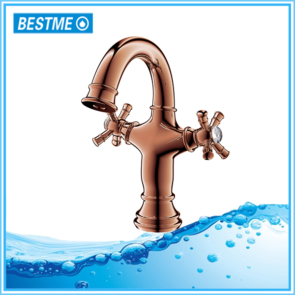 BESTME bathroom deck mounted single lever basin tapware