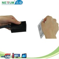 NT-301 Micro USB Barcode Scanner Type Handheld USB Portable Mini Scanner for Warehousing and Postal Service