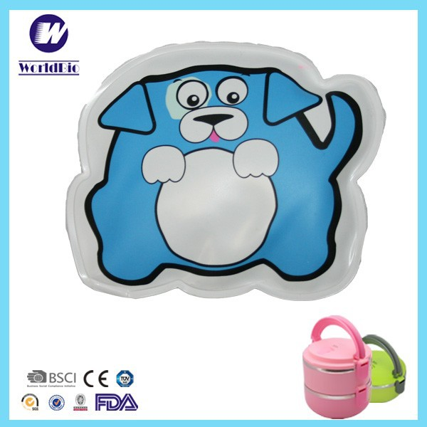 Mini Cartoon Beads Ice Packs For Lunch Box