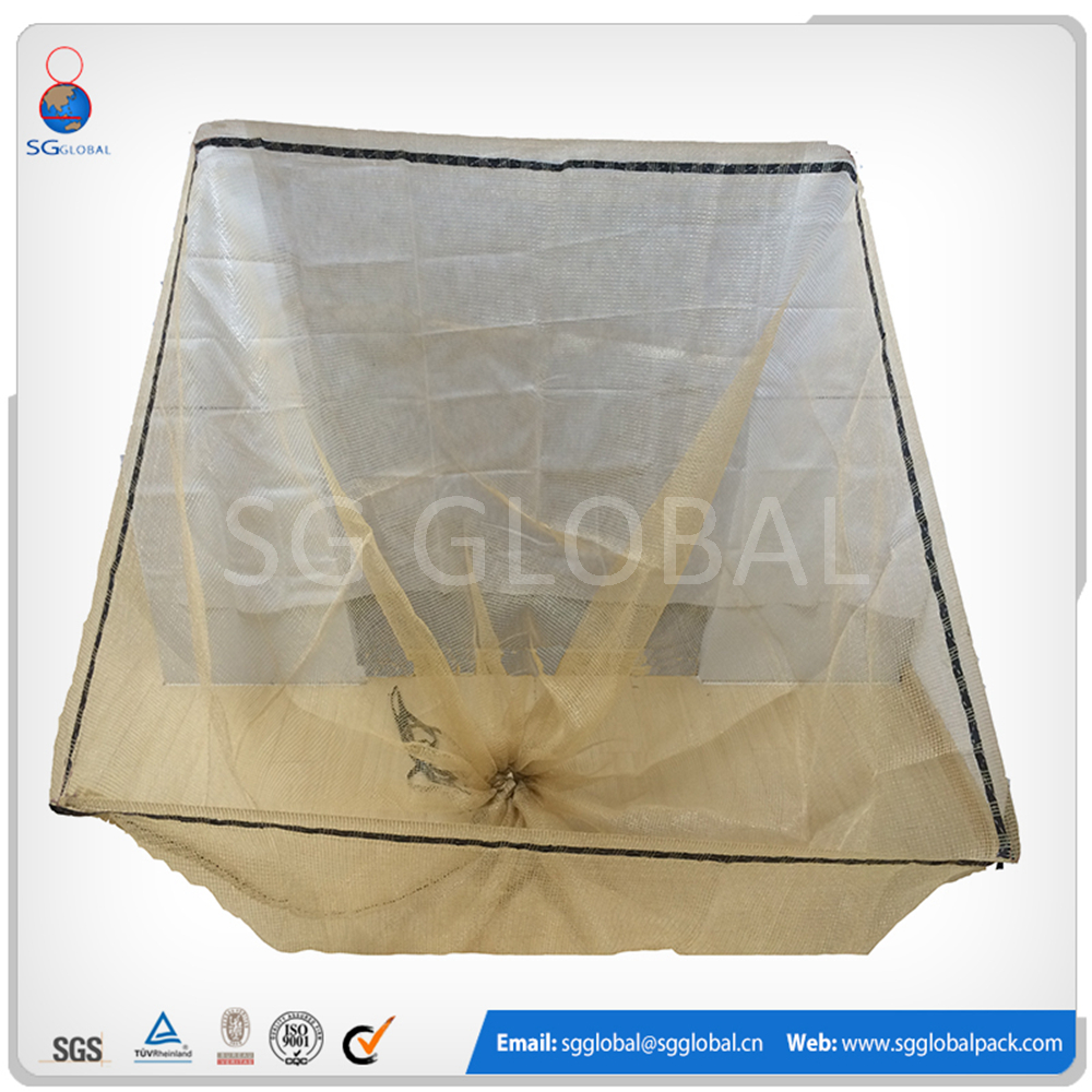 China alibaba plastic packaging firewood pp mesh bag