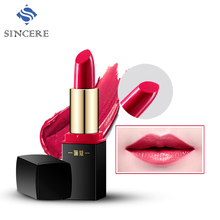 Sincere hot selling mineral makeup cosmetics beauty products lipstickk