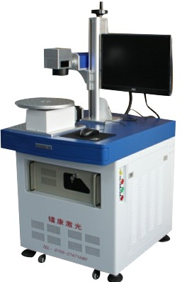 High efficiency laser engraving machine rotary