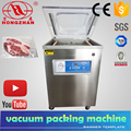 Price for Hot sale Hongzhan DZ400 2D table top or stand type preserving meat fish cereal vacuum food vacuum machinery