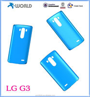 2014 new hard plastic case for LG G3, solid or clear color, matt or glossy