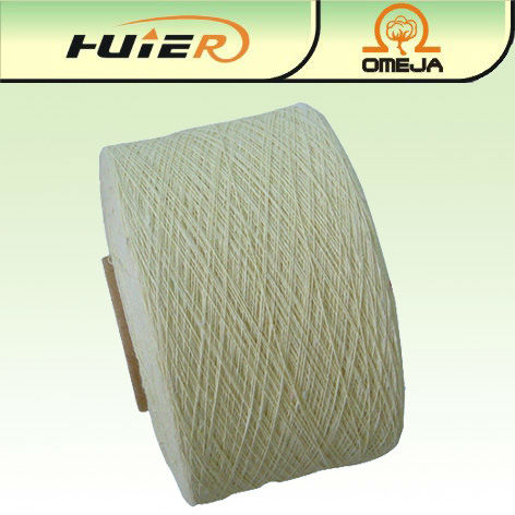 OE recycled cotton mop yarn for knitting machine