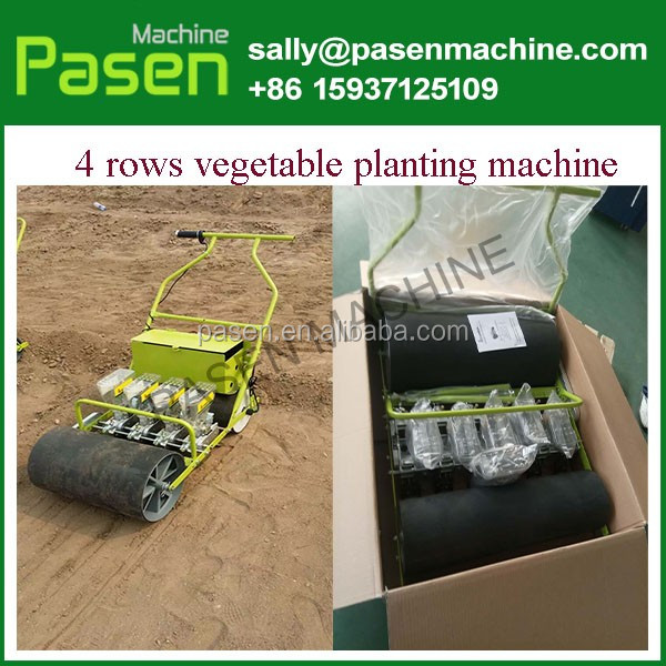 row manual seed planter for sale / row vegetable seed planter / cabbage planting machine