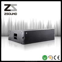 Pro audio line array system, empty line array cabinet