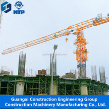 New Hight quality Guangxi NTP Model TCT7015 Construction Jib Tower Crane low factory price