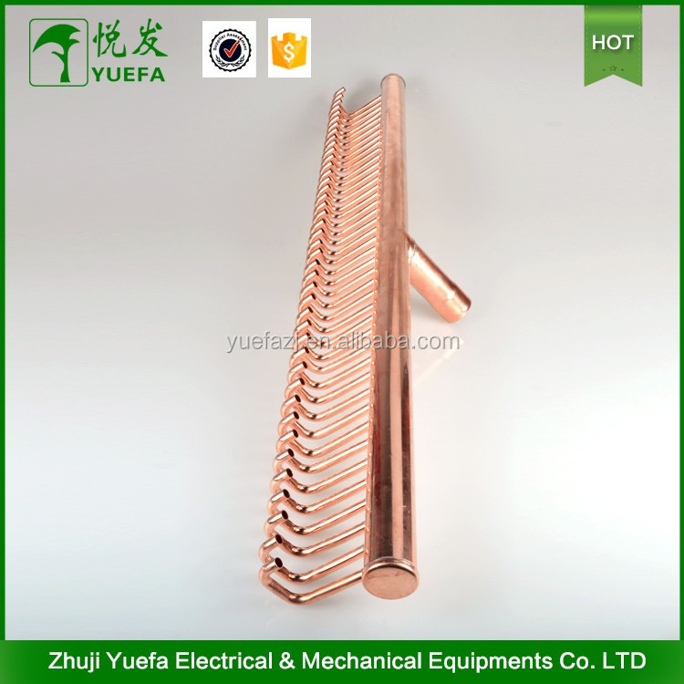 Refrigeration Parts Copper Pipe Fittings Manifold