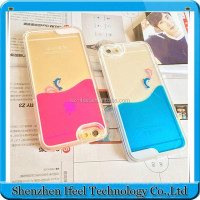 Top Quality Cell Phone Material PC Crystal Transparent Mobile Phone Case For Iphone 6 Crystal Phone Case