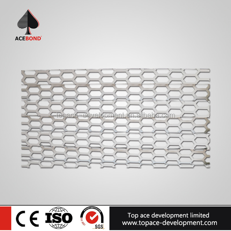 China manufacturer wholesale home decorative perforated wall cladding panel prices