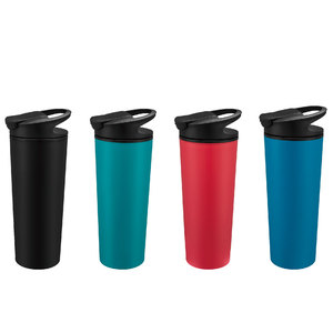 480ml Proof Travel Tumblers Suction coffee mug never fall over Plastic Water Cups