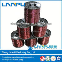 High cut through performance enamel wire for dynamo motor