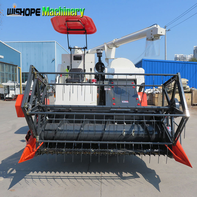 4LZ-4.5 Agricultural Uses Of Combine Harvester Machine With Good Price