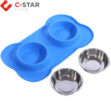 Super deal portable dog cat pet travel bowl