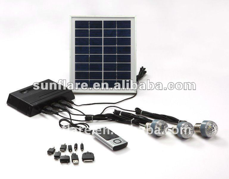 SF-10 Solar Power System, green solution and free kerosene for lighting in Africa
