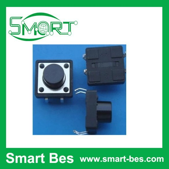 Smart Bes 12 * 12 * 9 mm micro switch touch switch Button switch horizontal type /copper feet