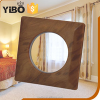 YiBo 42mm ABS plastic shower curtain rod covers