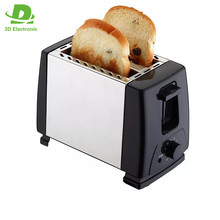 Stainless Steel 2 Slice Electric Toaster /Commercial Bread Toaster For Factory Prices