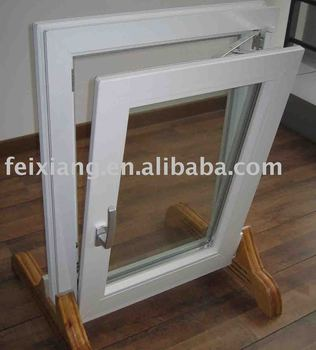 PVC tilt window ,Vinyl tilt-turn window, plastic window