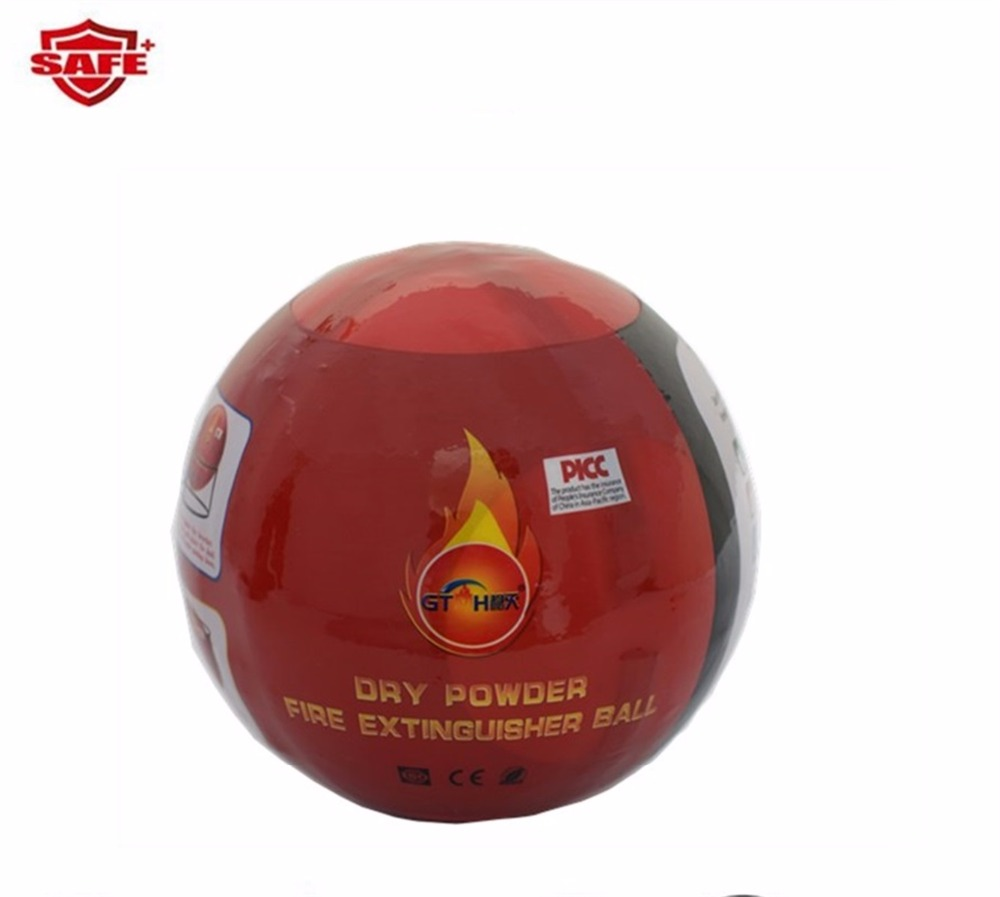 Beyond compare secure throwable fire extinguisher ball