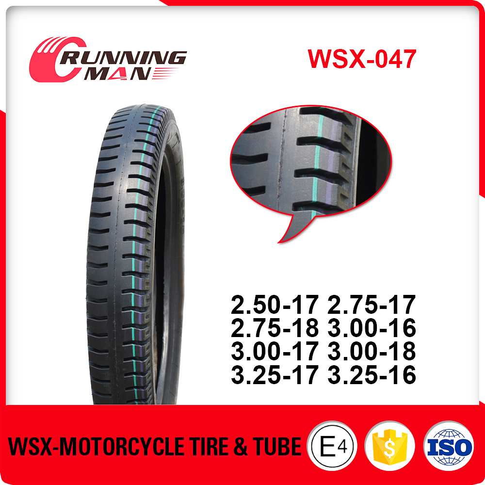 WSX-047 China Motorcycle Tyre 3.00-17 Exported In Philippines