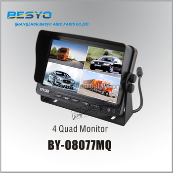 "HD 7""CCTV monitor ,Truck and bus safty rear view monitor rearview camera system"