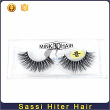 Wholesale High Quality Private Label Mink Fur Eyelash Strips