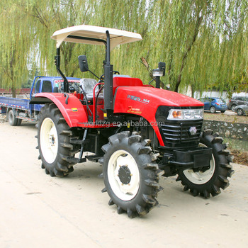 4wd 90hp tractors, model 904, with canopy or a/c cabin