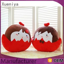 China Toys Factory Cheap Wholesale Custom Plush Toy Chicken Egg