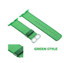 Wholesale Cheap 22mm Woven Blue/Black/Orange/White Watch Strap Nylon watch Band