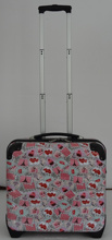hard case laptop trolley luggage bag from China luggage factory with BSCI