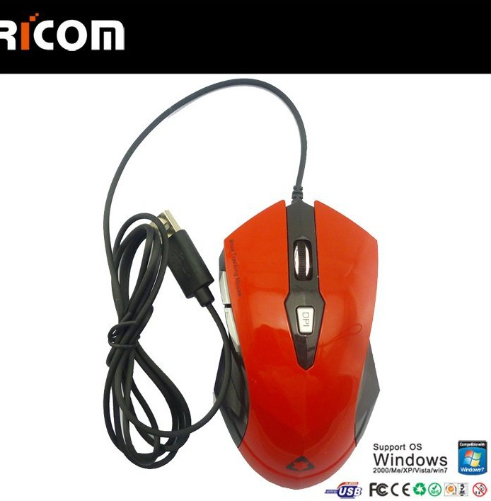 stock 6d optical gaming mouse,gamers mouse,mouse for pro gamer--GM16--Shenzhen Ricom