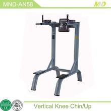 Body Building Equipment Fashional assist chin up station/Sport Training Gym Equipment MND-AN58 Vertical kness chin/up