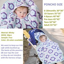 13% Off Minky Material Super Soft and Breathable Custom Winter Use Baby Cloak