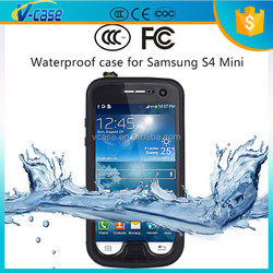 Waterproof Shockproof Swim Dirt Mobile Phone Case Cover For Samsung Galaxy S4 mini
