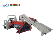 EPS Recycled Plastic Two Stage Granulating Machine to Get Granules