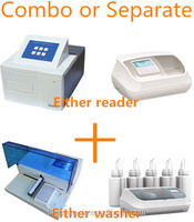 combo: Elisa Microplate reader and Elisa Mircowasher for Bio-Rad kit only