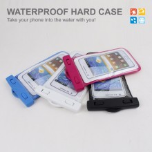 Hot Selling Waterproof Bag,Pvc Phone Pouch Bag With Velcro,Three Zipper Phone Case
