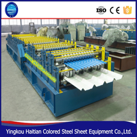 Stainless steel Double Layer Sheet Roof Tile Making Machinery