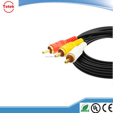 Good quality VGA cable male to male vga to tv converter s-video rca out cable adapter from china