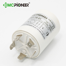 PE2601-16-01 16a white column noise emi filter for washing machine