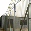 Factory wholesale silver colour safety barrier fence
