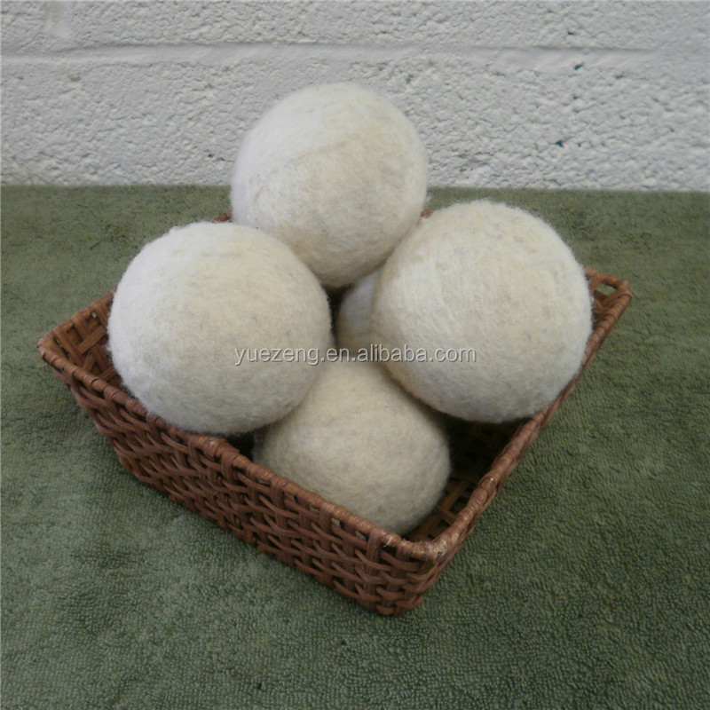 2018  bestseller organic wool dryer balls 6 pack