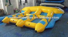 2012 hot sale inflatable flying fish boat