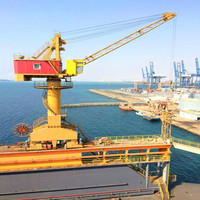 Port Loading & Unloading Offshore Platform Crane with 360 Degree Rotation