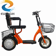 Factory directly Family used adult Large electric tricycle for shopping