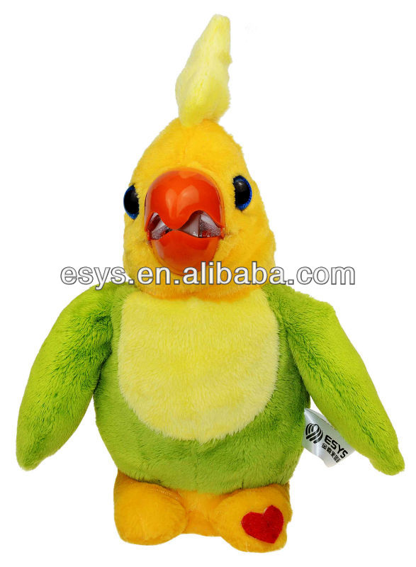 electronic stuff toy-parrot intelligent talking toys