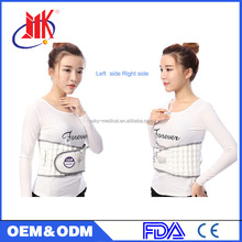 Google Ergonomic lower back inflatable mesh Waist Belt magnetic posture support with removable pad