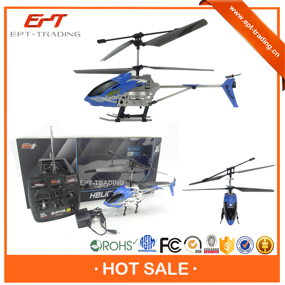 Hot selling led 3.5ch model king rc toy helicopter for sale